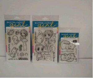 Some Odd Girl Stamp Set