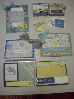 celebration greeting cards kit