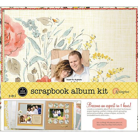 One Hour Scrapbook Kit