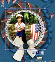 Digital Scrapbook Layout- 4th of July