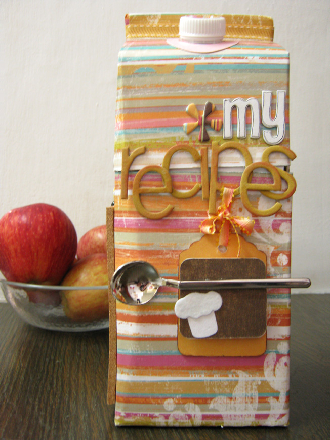 Altered Art Milk Carton
