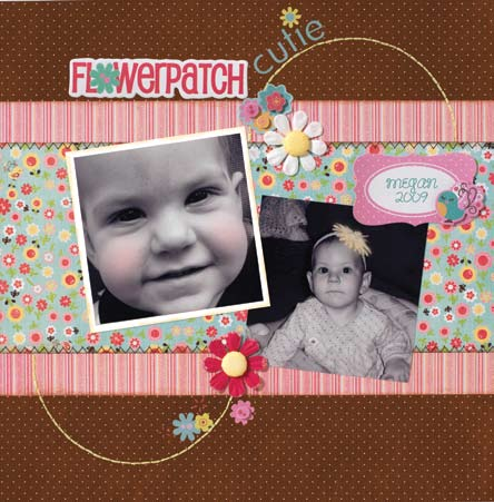 Flower Patch Cutie Layout