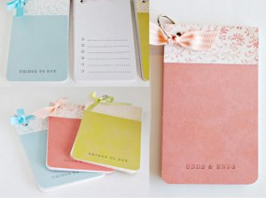 Lovely List Notepads