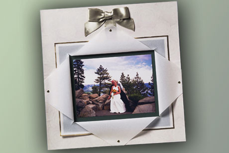 Mountian Top Wedding Scrapbook