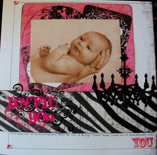 Until You Scrapbook Page