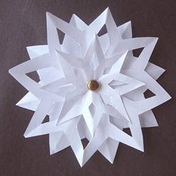 paper snowflakes instructions Want to learn how to make snowflake pictures using simple paper my clear step-by-step instructions will help you to learn more about snowflake craft.