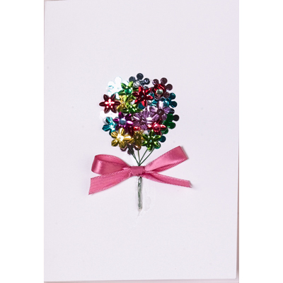 Spring Sequin Card