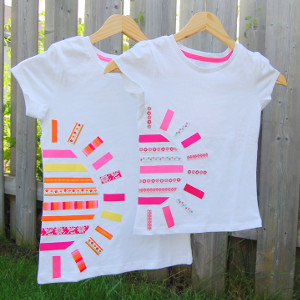 Summer diy sunshine t shirt for Diy tee shirt printing