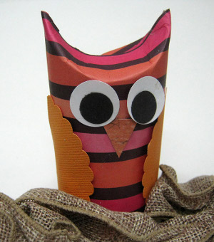 trick or treat owl
