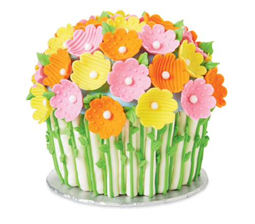 Blooming Bouquet Giant Cupcake Cake