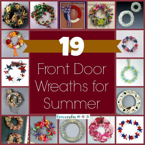Summer front door wreaths to make table of contents patriotic wreaths