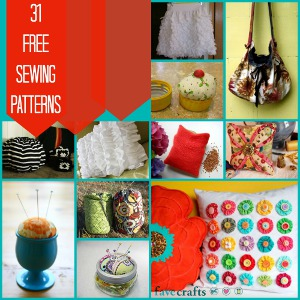 31 Free Sewing Patterns