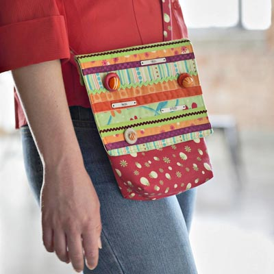 Bright Quilted Bag