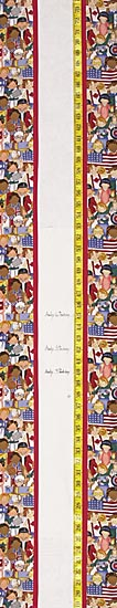 Children's Fabric Growth Chart