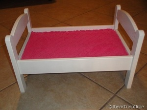 Doll Bed Makeover