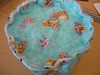 Fabric Easter Basket Step 8