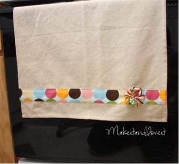 Embellish a Tea Towel