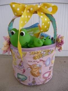Fabric Easter Basket