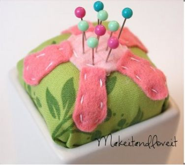 Flower Pincushion