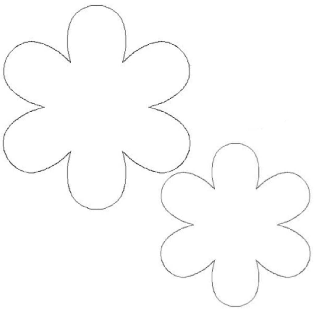 Invaluable image throughout flower templates printable