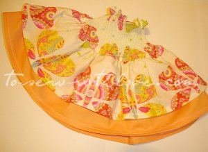 Groovy Gathered Skirt