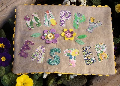 Happy Easter Applique