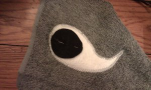 Hooded Shark Towel