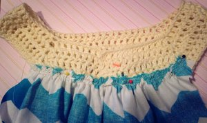 I Feel Pretty Crocheted Dress