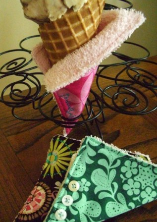Ice Cream Cone Cozies