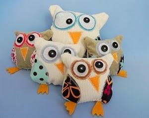 Kooky Stuffed Owl