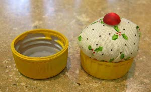 Mini Cupcake Pin Cushion