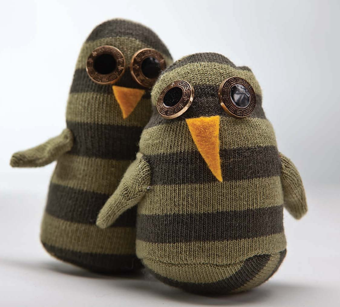 Owl Sock Friends