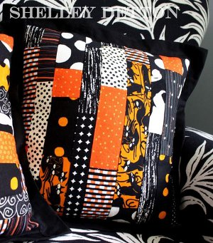 Scraptastic Fabric Pillow