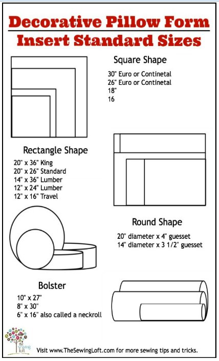 How to Make a Pillow Form | FaveCrafts.com