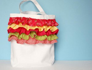 Summer Dreams Ruffled Bag