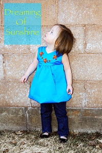 Sunshine Beaded Dress