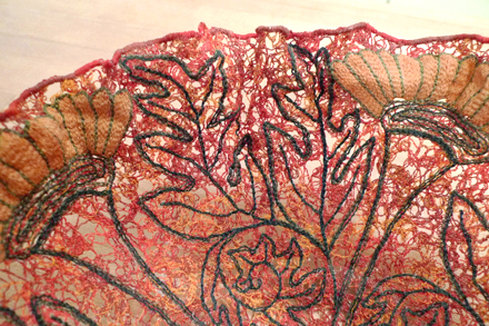 Thread Bowl Embellishment Detail