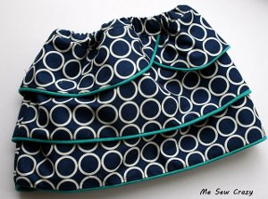 Tiered Tulip Skirt