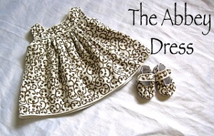 Abbey 1 Baby Dress Sewing Patterns
