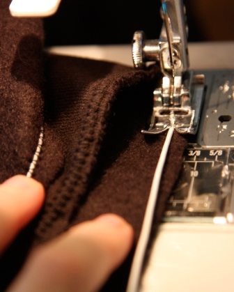 Sewing Sweatshirt