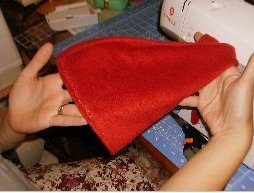 Fleece Gnome Hat