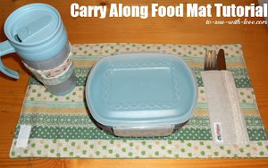 Carry Along Food Mat