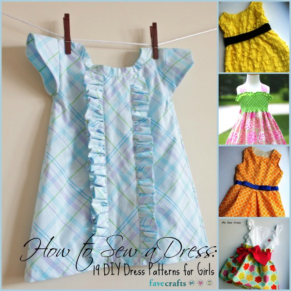 How to Sew a Dress: 19 DIY Dress Patterns for Girls