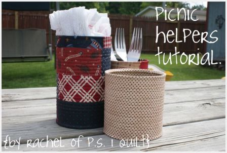 Country Picnic Utensil Holders