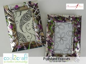 Splatter Nail Polish Frames