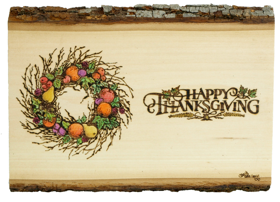 Thanksgiving Wood Plaque