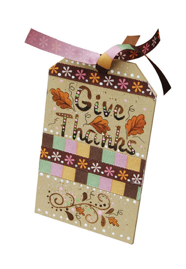 Give Thanks Thanksgiving Tags