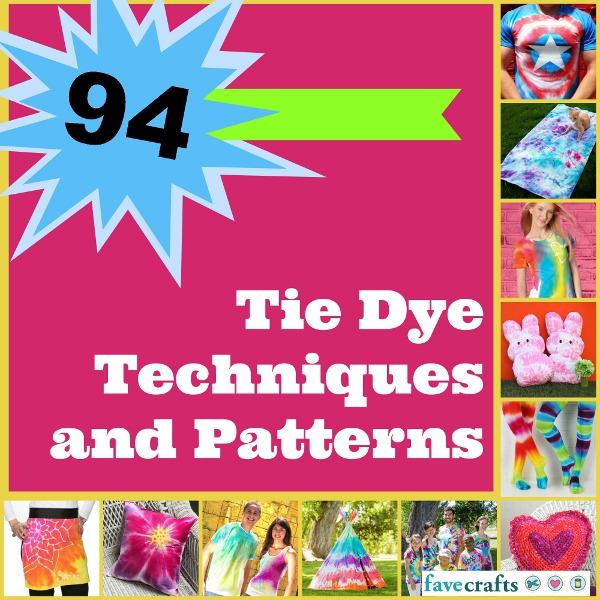 tie dye printable instructions