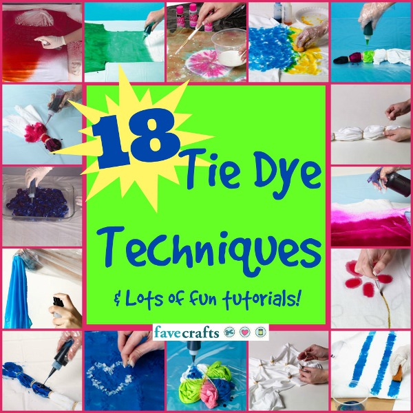 47 tie dye craft projects and how to tie dye - Technique tie and dye ...