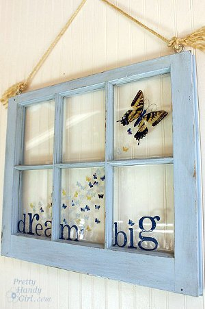 Big Dreams Butterfly Window
